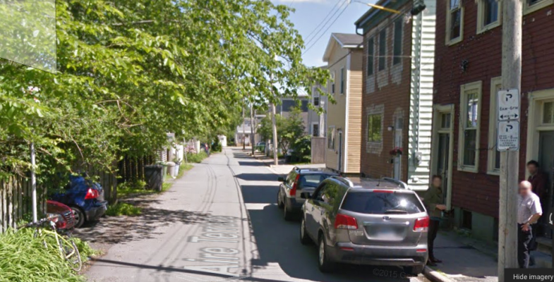 The Google car didn't speed down Belle Aire Terrace.