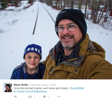 Steve Smith, putting a young person's life in danger, by taking a selfie.