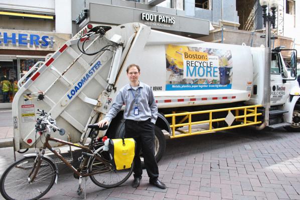 Boston city trucks require side guards. Photo: fastcoexist.com
