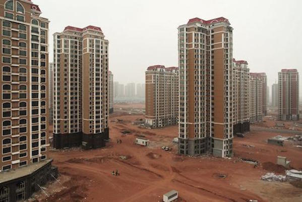 One of China's ghost cities.