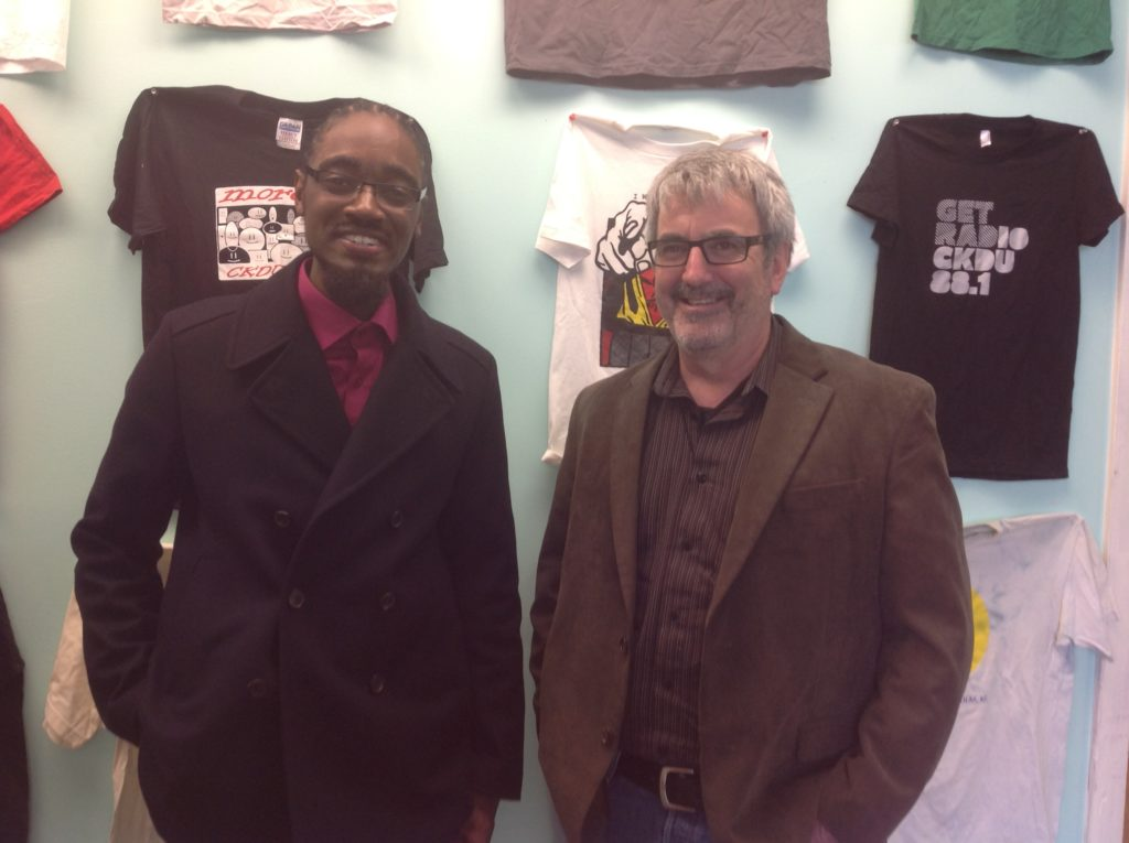 Lindell Smith with Tim Bousquet