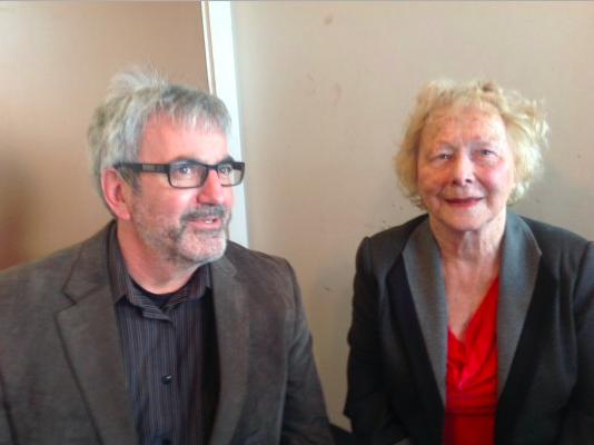 Gloria McCluskey with Tim Bousquet