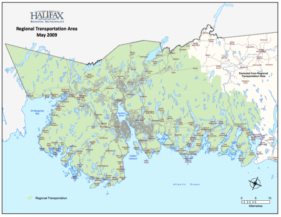 Regional Transportation tax area