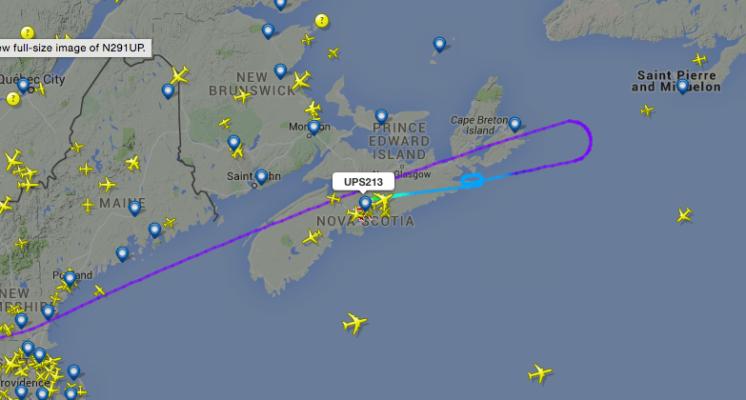Map: flightracker.com