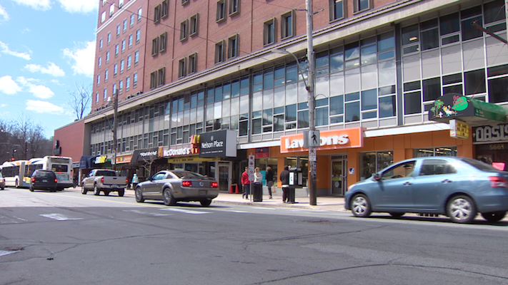 Image of super high end shopping in Halifax from CBC.