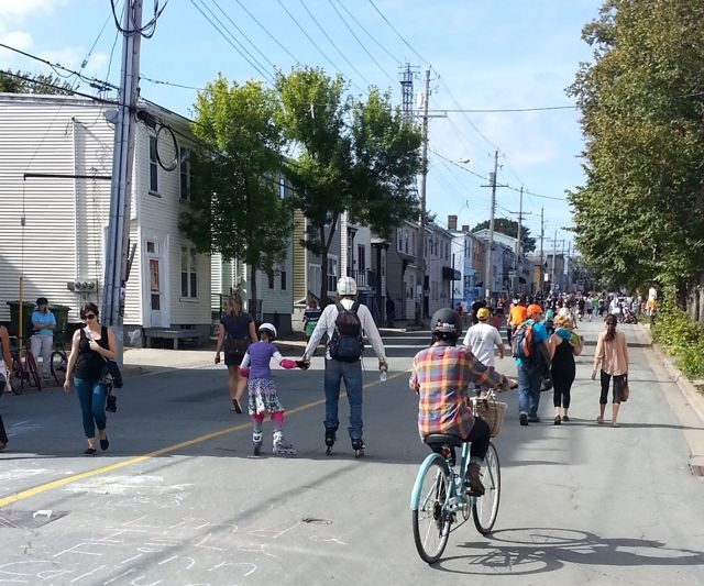 Agricola Street getting Switched in 2014.