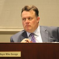 "Polishing a turd: Mayor Mike Savage says the fiscal disaster of the convention centre is a ""good news story"""