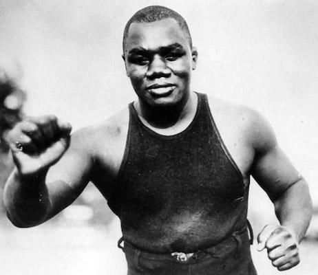 Image of Sam Langford from sportshall.ca