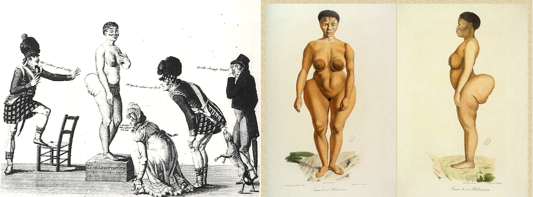 "Image of the ""Hottentot Venus"" from scary mommy.com"