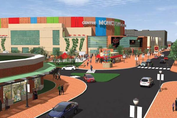 Conception design of Moncton's Downtown Centre project.