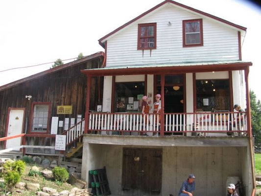 The old S General Store is now the office for Jakeman's Maple Products. Photo: http://sumoflam.biz