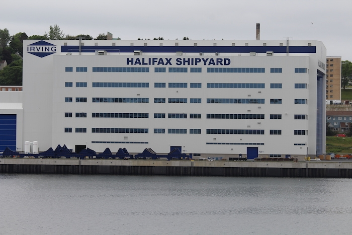 Irving Shipyard. Photo: Halifax Examiner