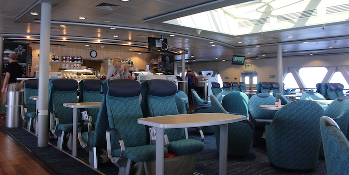 The aft deck on the Akalai. Photo: Halifax Examiner