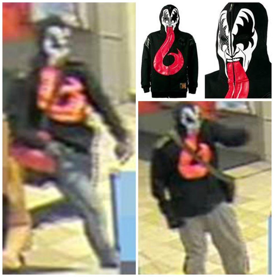 bank robber - kiss