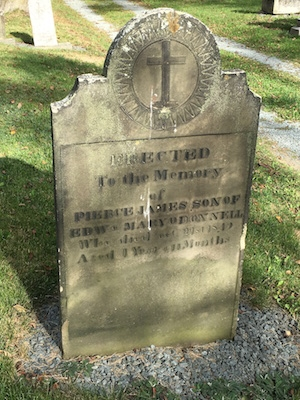 The grave of James O'Donnell