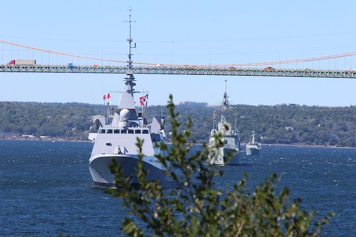 The parade continues. Photo: Halifax Examiner