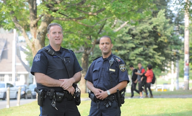 Halifax Regional Police. Agents of Islamic infiltration into Canada through their secret terrorist program, Operation Fall Back. Image from dal.ca