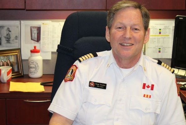 Fire chief Doug Trussler. Photo: Halifax Examiner
