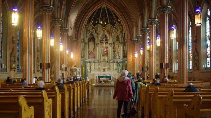 Saint Patrick's Church. Photo: Payge Woodward