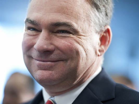 Former governor and vice-presidential candidate and current senator, neoimperialist and Halifax tourist Tim Kaine.