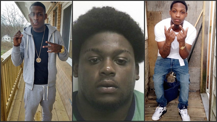 """Collage of suspects"" from news957.com."
