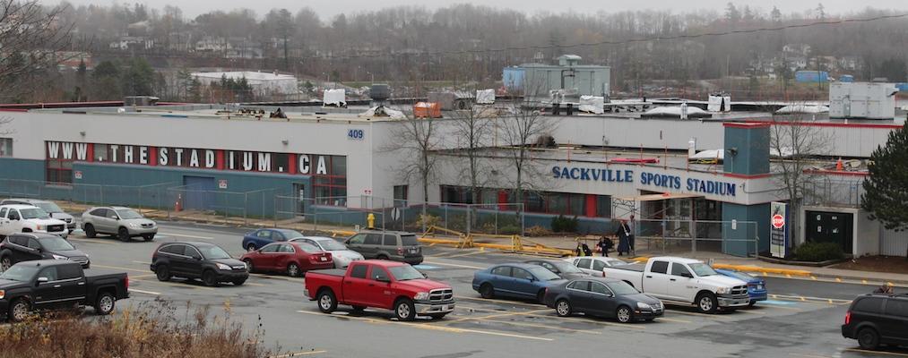 Sackville Sports Stadium. Photo: Halifax Examiner