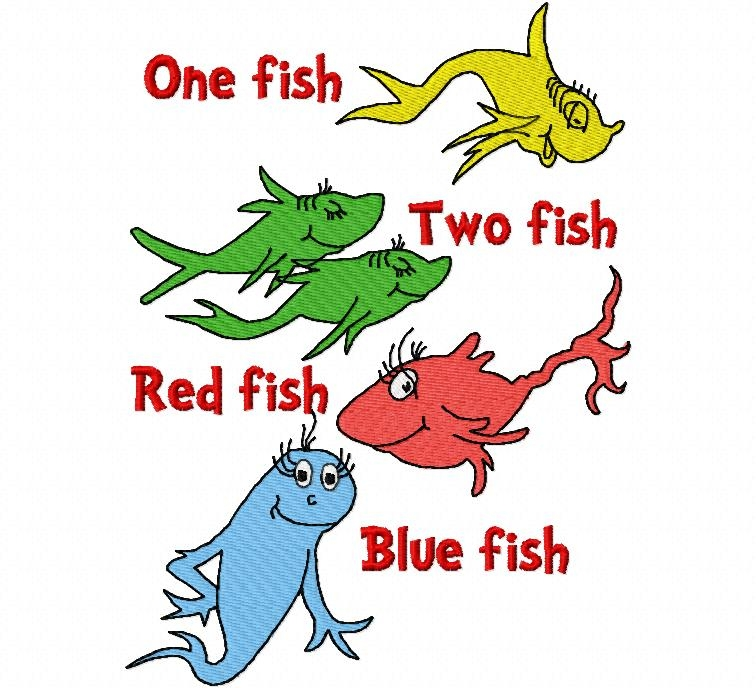 One Fish Two Fish Red Fish Blue Fish Morning File