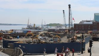 The cost of removing contaminated fill from the Queen's Marque site has increased by $1 million