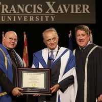 The Mulroney Institute, St. Francis Xavier University, and the honorary arms dealers