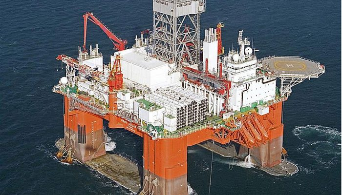 BREAKING: lubricant spill reported at BP's Scotia Shelf drill site