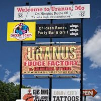 True love: KFC, a bottle of Vodka, Sun Chips, and a copy of the Uranus Examiner