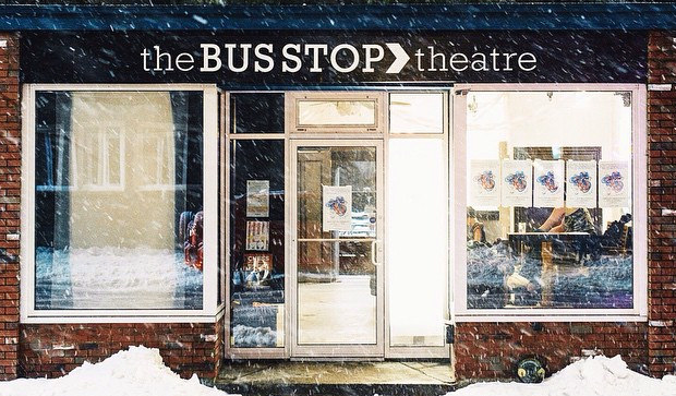 Bus Stop Theatre storefront