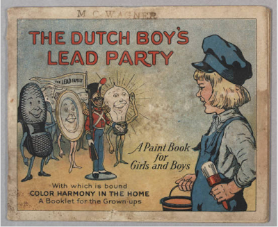 Vintage ad for Dutch Boy lead paint