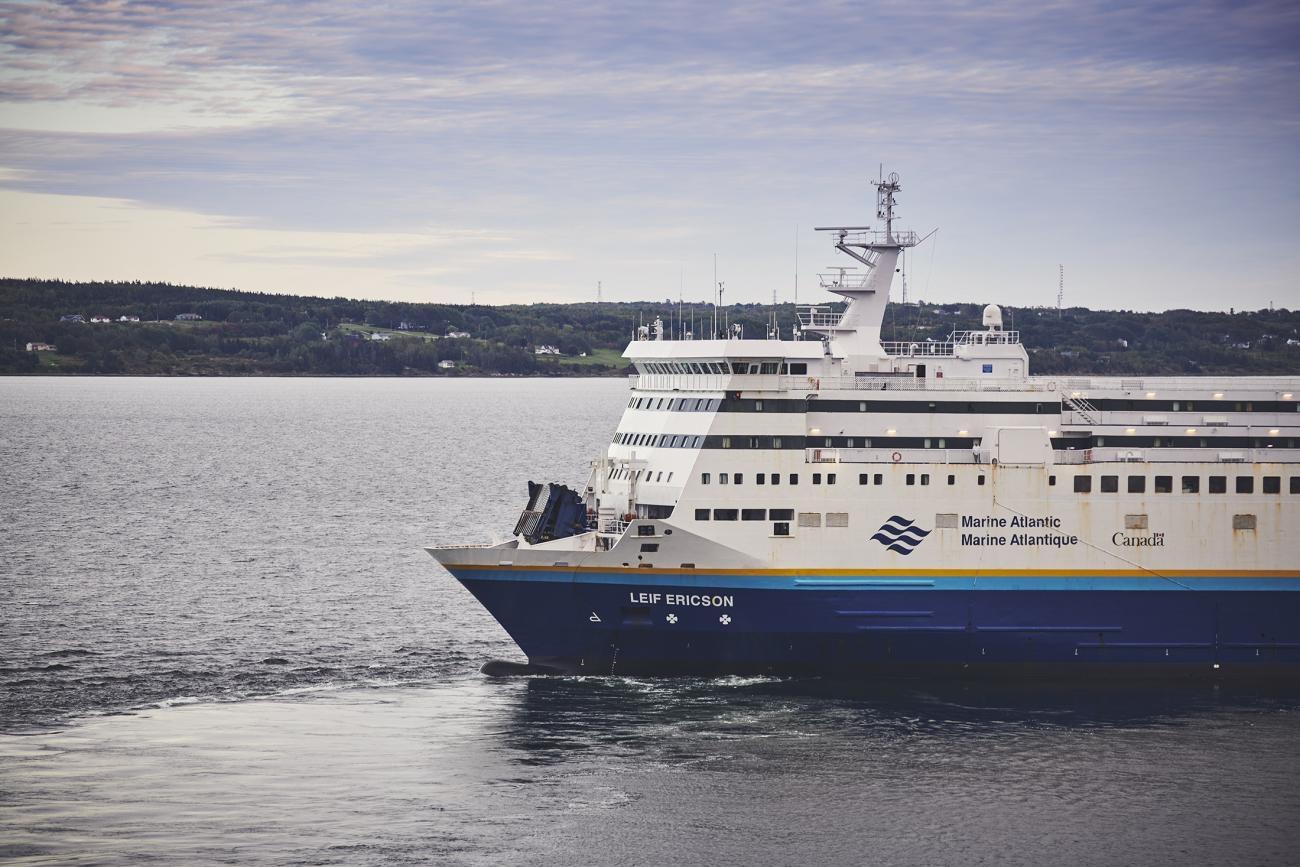 The MV Leif Ericson ferry