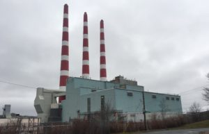 The Tufts Cove plant on a cloudy day.