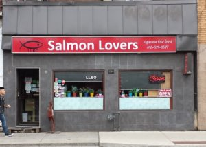 Restaurant called Salmon Lovers