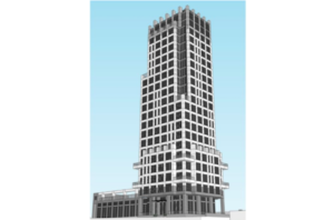 A rendering of Westwood's proposed 23-storey tower on Robie Street. Photo: Architecture49