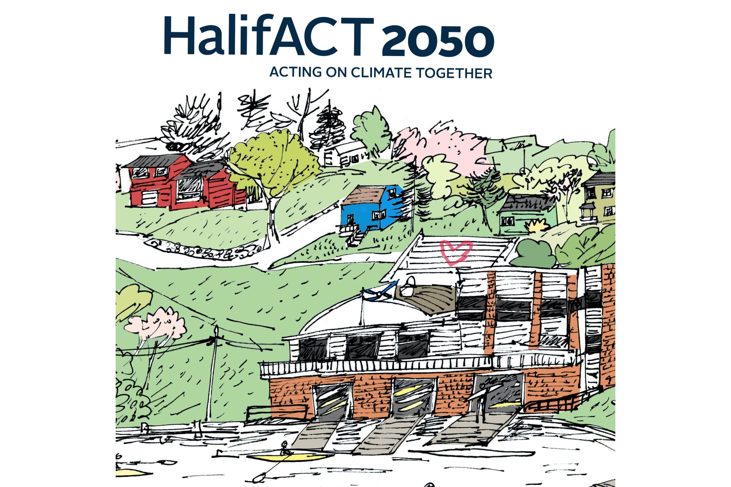 Cover of Halifax climate change plan