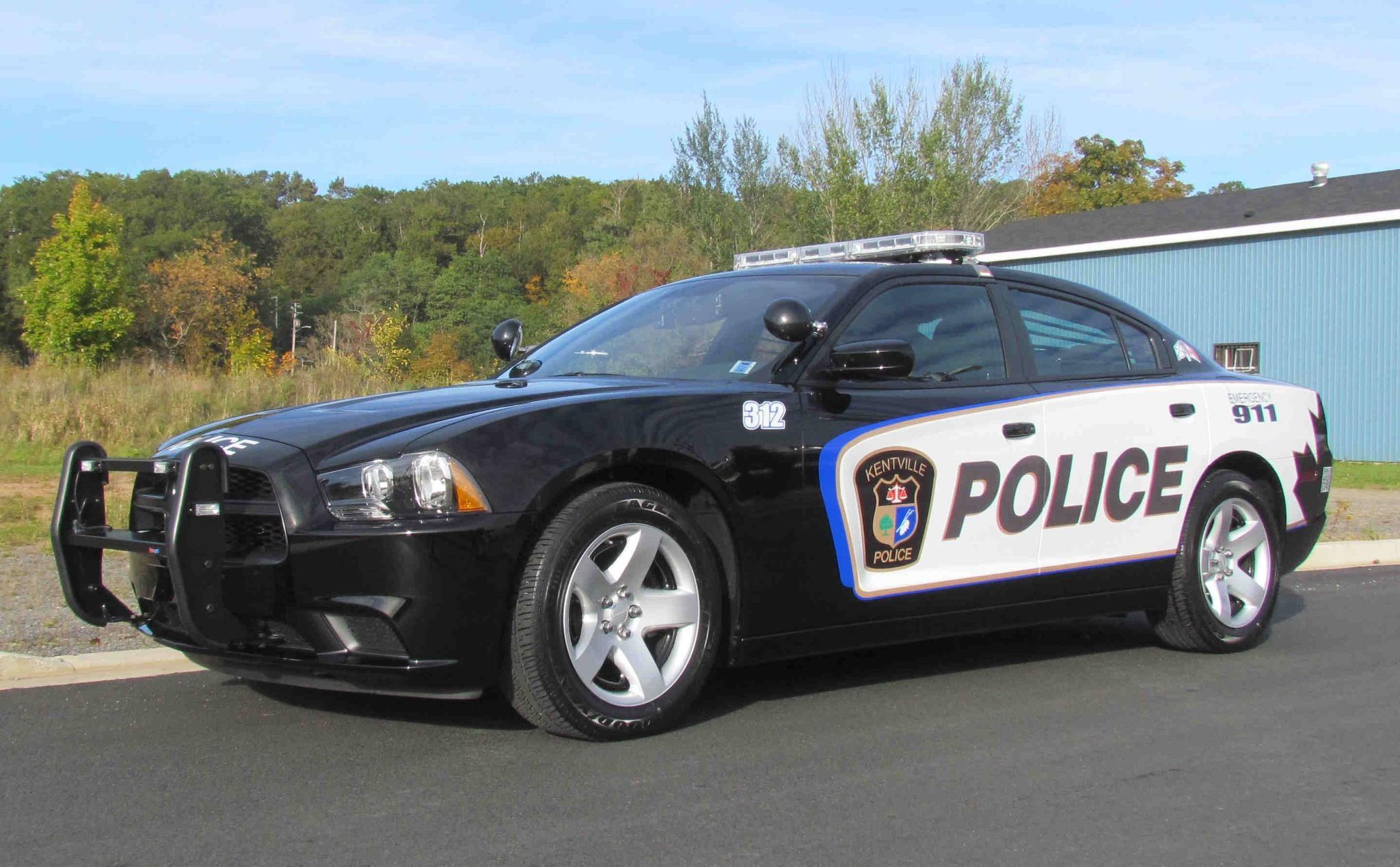 Kentville Police car