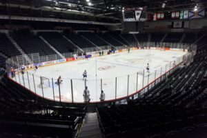 Hockey game at the Metro Centre