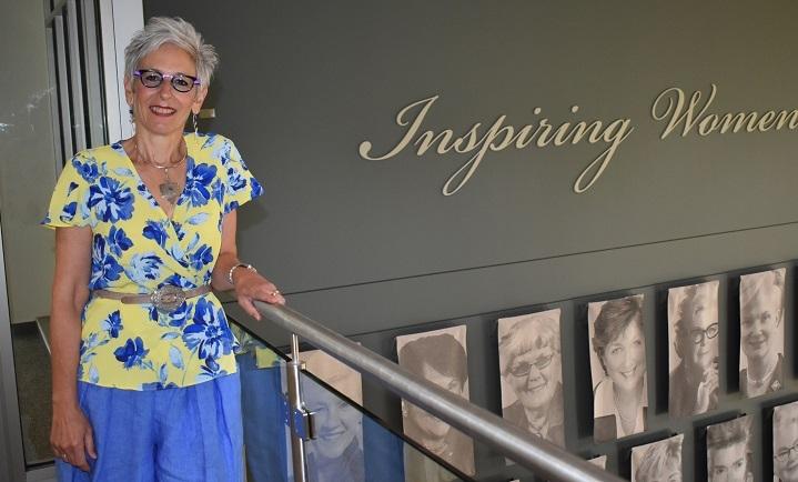 Dr. Janet Conway, Nancy's Chair in Women's Studies at Mount Saint Vincent University