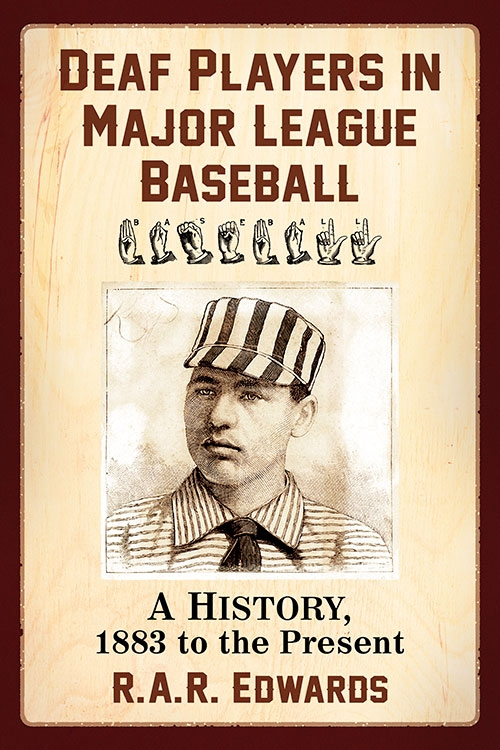 Cover of the book Deaf Players in Major League Baseball