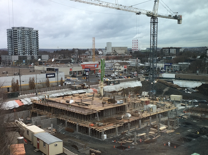 a photo of the construction site at Richmond Yards