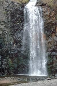 Wispy waterfall.