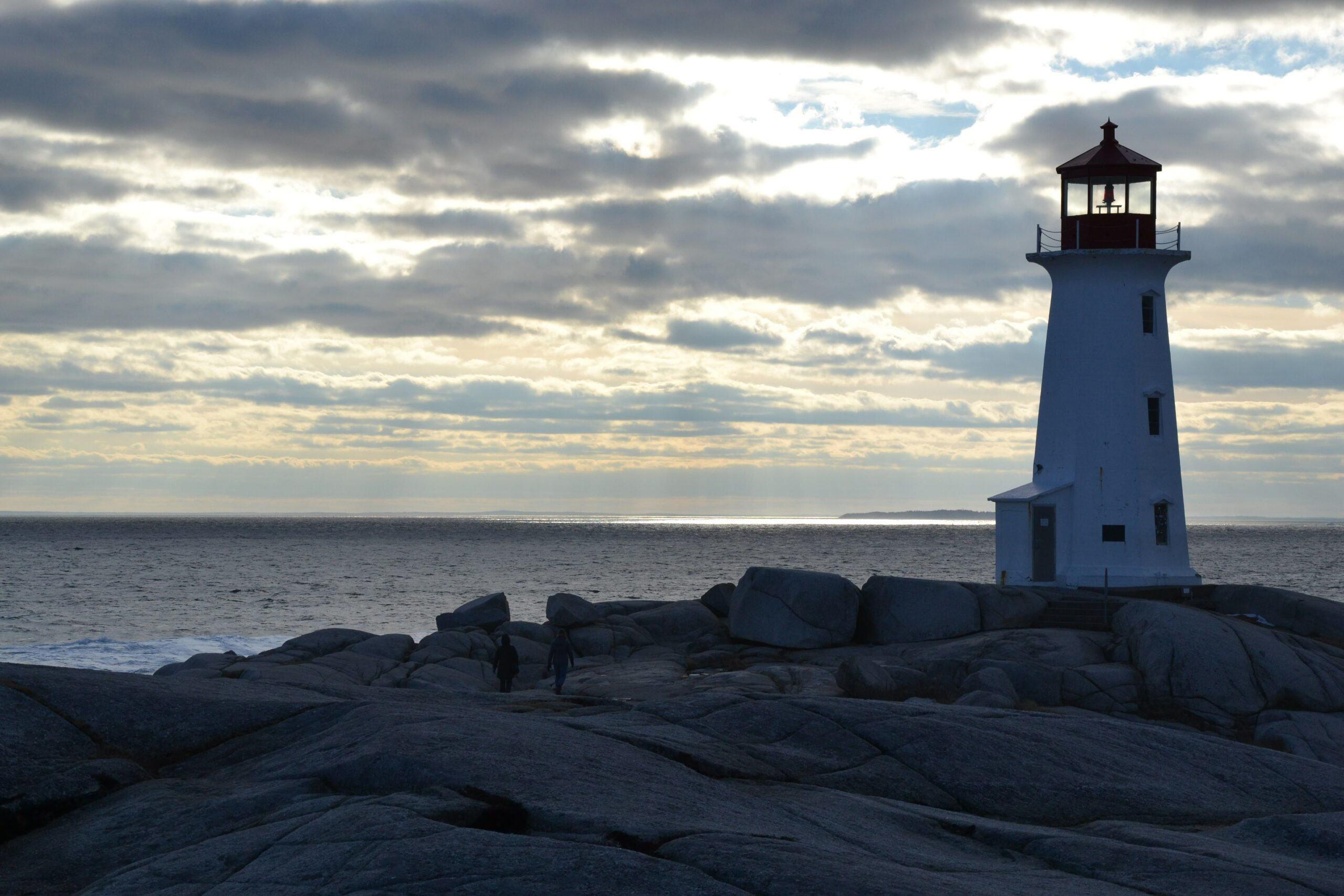 Lighthouse in the evening.