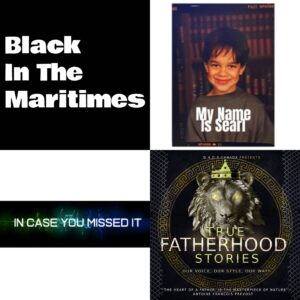 Images from the Black in the Maritimes podcast homepage