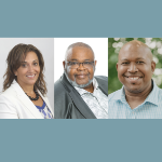 Three Black candidates: Angela Simmonds, Archy Beals, and Colter Simmonds