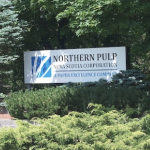The Northern Pulp sign
