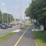 A shared pathway on Bayers Road.