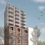 Another rendering of another generic new building